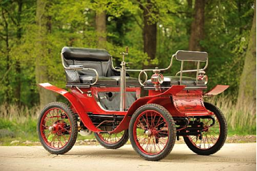 1901 De Dion — Vis a Vis