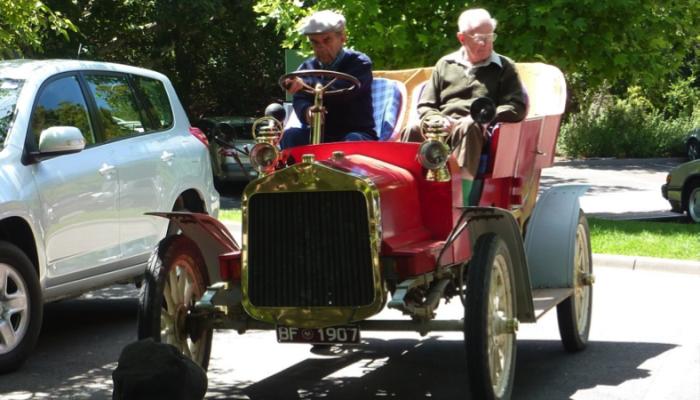1907 Buick — flat twin