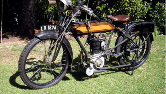 1912 James motorcycle