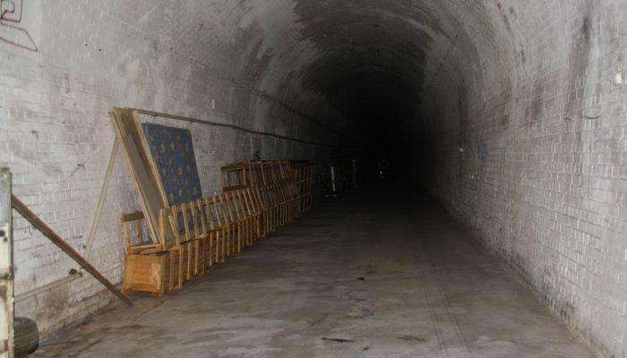 Railway Tunnels at Panorama — December 2014