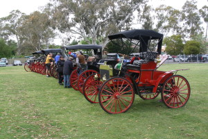 High Wheeler Rally - Hahndorf 2015